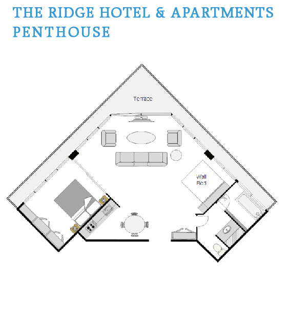 Penthouse Floor Plan View