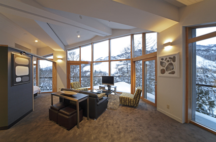penthouse mountain view